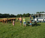 Camping yn 'e Lânsdouwe